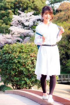 Hanami with Nanoka
