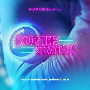 Booster Station websérie futuriste