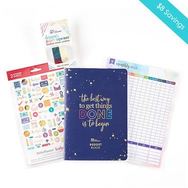 Erin Condren Budget Book Set