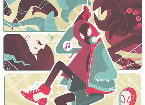 A4 SPIDERVERSE