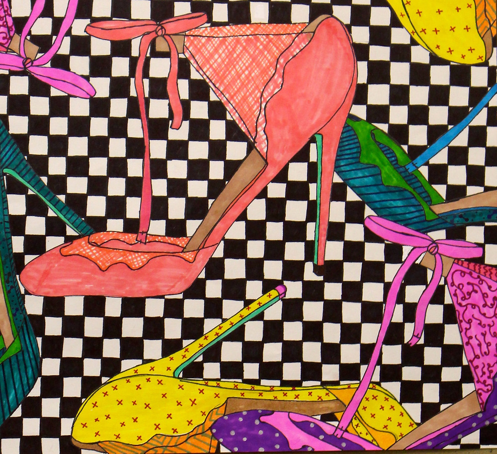 The Dancing Shoes by Natalie Ford (2015)