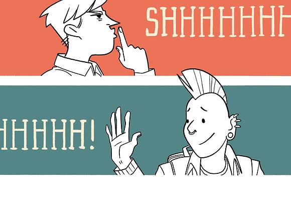 SHH comic