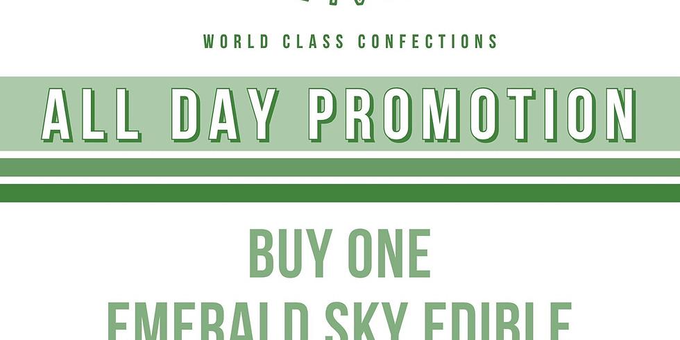 Emerald Sky Edible Promo
