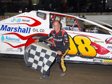 Eddie Marshall Gets Back to Victory Lane at Lebanon Valley