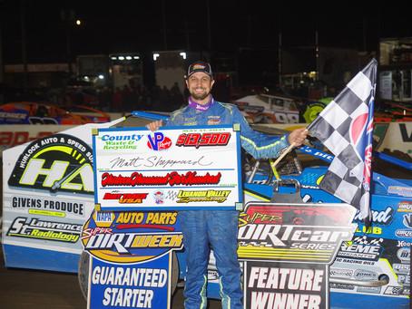 Matt Sheppard Wins Attrition-Filled Mr. DIRT Track U.S.A.