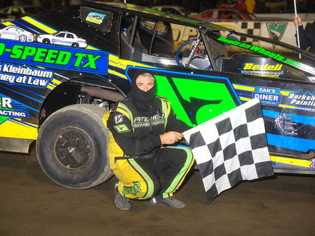 Rob Pitcher Wins Final Lebanon Valley Modified Race of 2020, Champions Crowned