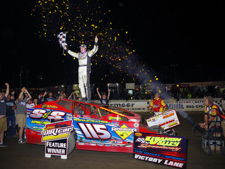 Kenny Tremont Jr. Wins Mr. Dirt Track U.S.A. For 5th Time