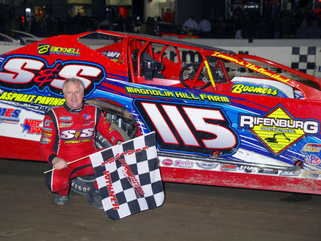 Kenny Tremont Jr. Extends Record with 133rd Big Block Win on Chilly Opening Night if