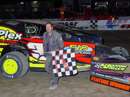 Steve Hough Wins J.C. Flach Memorial, Andy Bachetti Wins 6/1 Modified Feature