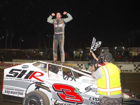 Marc Johnson Scores 1st Career Lebanon Valley Victory
