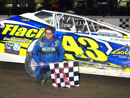 Keith Flach Uses The Inside Line to Snag Victory