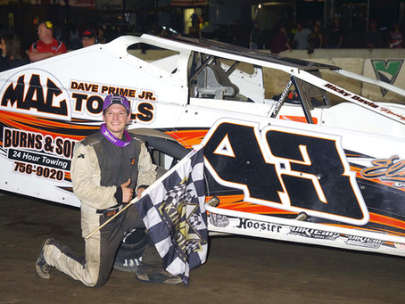 Ricky Davis Earns 1st Small Block Victory on Lebanon Valley Championship Night