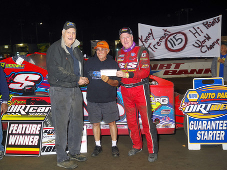 Kenny Tremont Jr. Successfully Defends Mr. DIRT Track U.S.A. Victory