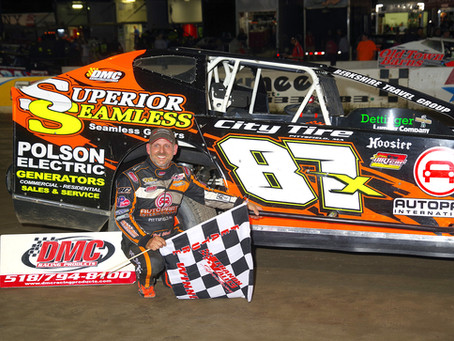 Paul Gilardi Earns 7th Career Big Block Win at Lebanon Valley