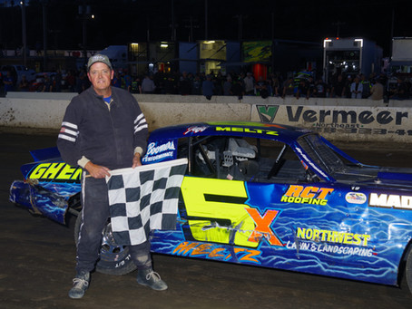 Rain Cuts Lebanon Valley Card Short, Jeff Meltz Sr., Chris Murphy Win Pure Stock Races