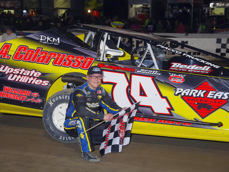 J.R. Heffner Claims Victory in Night of Attrition at Lebanon Valley
