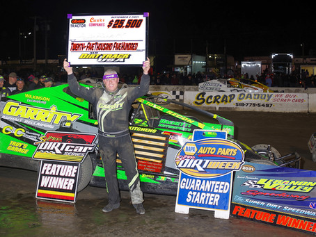 Andy Bachetti Recovers From Penalty To Win Mr. DIRT Track U.S.A.