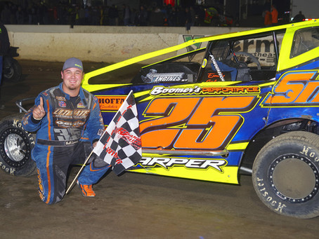 L.J. Lombardo Claims First Small Block in First Attempt at Lebanon Valley