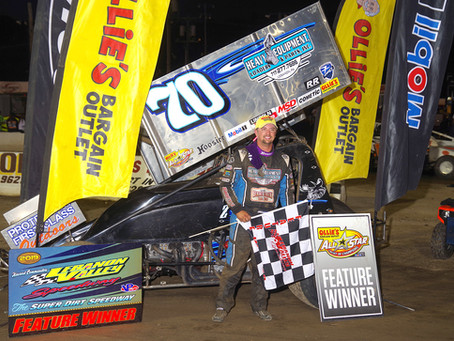 Brock Zearfoss Goes Flag-to-Flag for ASCoC Victory; Frank Harper Wins Small Block Feature