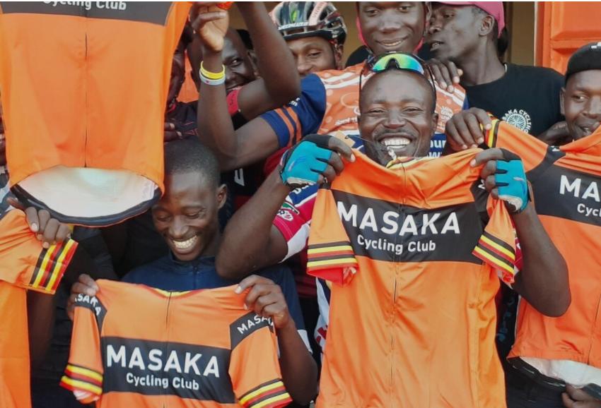 Supporting Masaka Cycling Club