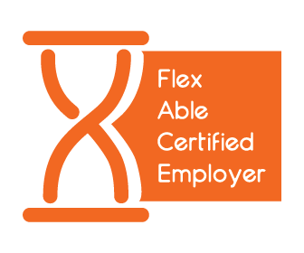 Anywise is recognised as a Flex Able Certified Employer