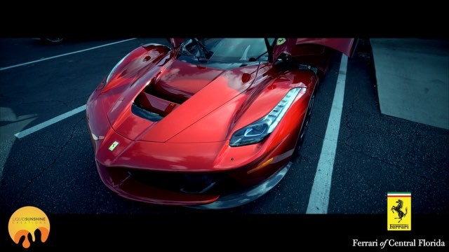 Ferrari of Central Florida commercial shoot! Part 5 #filmflorida 📽☀️ #ferrari #laferrari 🏎💨🏇