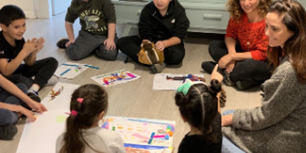 מוכנות רגשית לכיתה א - דרך אומנות משחק ושיח