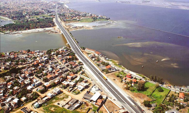 Ponte sobre o canal do Itajuru - Cabo Frio - RJ