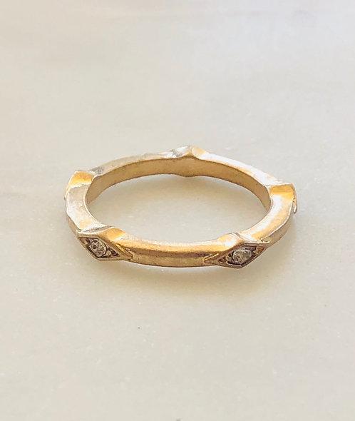 antique finish ring
