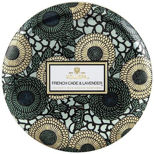 Voluspa 3wick French Cade Lavender