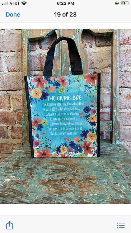 Natural life giving bag