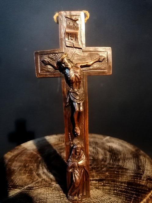 Croix reliquaire XVIIIeme.