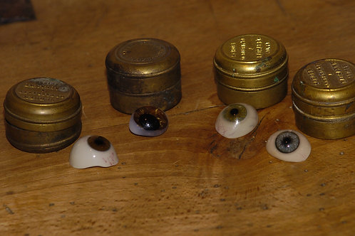 Prothèse oculaire début XXème