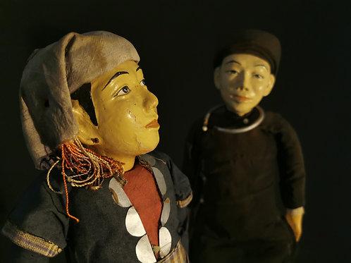 Couple de poupée laotienne.