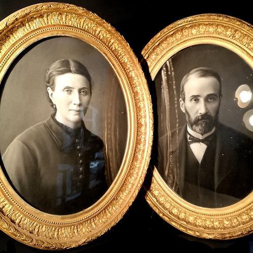 Portraits de Jean François Batut, XIXème