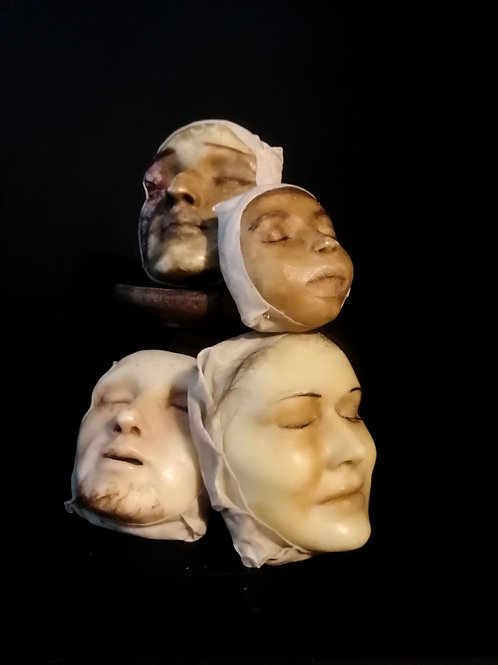 Masque mortuaire, XIXeme.