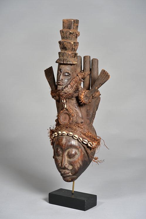 """Masque de fertilité """"Yoruba"""" Nigeria."""