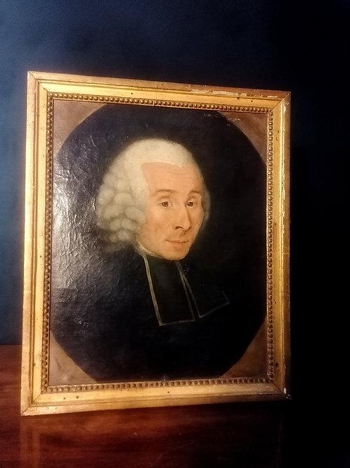 Portrait XVIIIème, Michel Delarue.