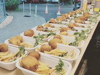 Wedding event catering Sussex Sneaky Duck mobile catering Street Food