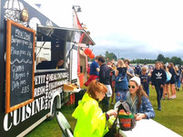Wedding event catering Sussex Sneaky Duck mobile catering Street Food Festivals