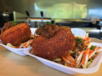 Wedding event catering Sussex Sneaky Duck mobile catering croquettes