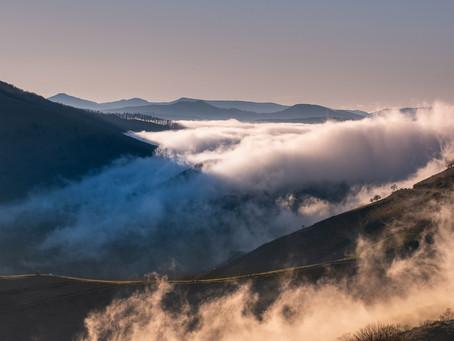 Pour moi la photographie de paysage est une construction mentale avant d'être une réalité.