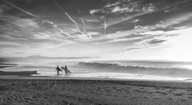 Embléme de la côte Basque - le Surf