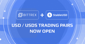 Bittrex Adds USD/USDS Trading Pair for StableUSD Stablecoin
