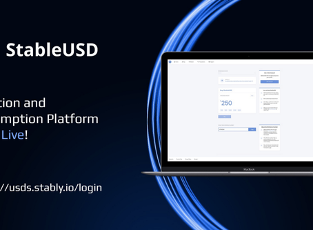 StableUSD Stablecoin Makes It Easy To Purchase and Redeem USDS