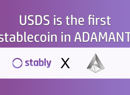 USDS is the first stablecoin in ADAMANT