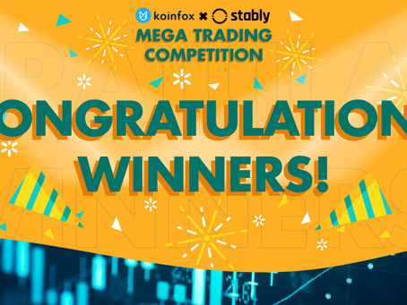 Winners of Koinfox & Stably Mega Trading Competition (April 2020)