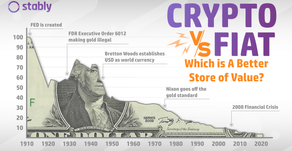 Which is A Better Store of Value - Crypto or Fiat