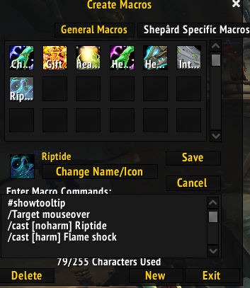 Holy Priest Mouse Over Macros