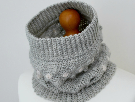 E'Claire Makery Blog Hop | Limited Offer - Nessa Cowl